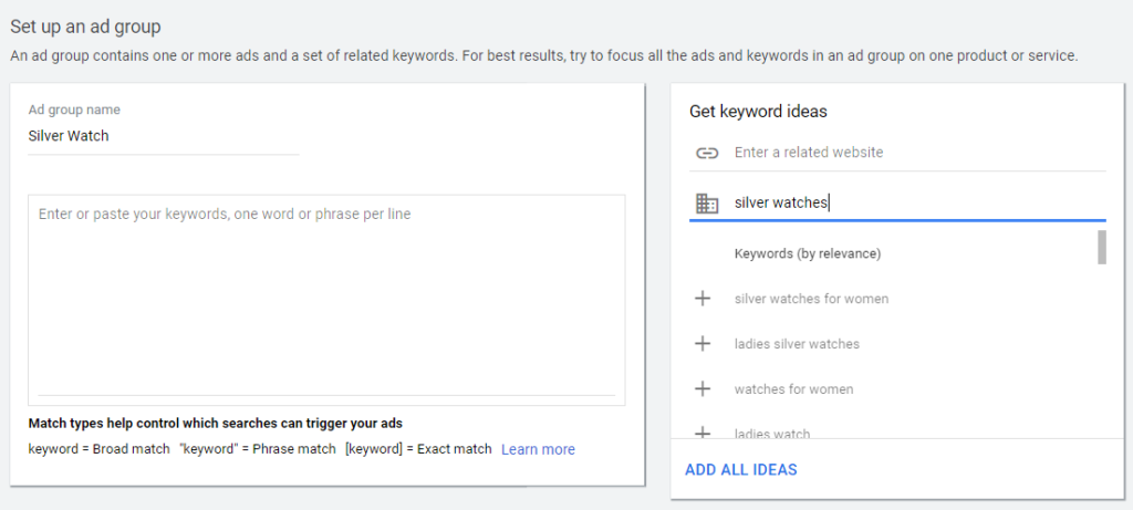 set up google ads manager account