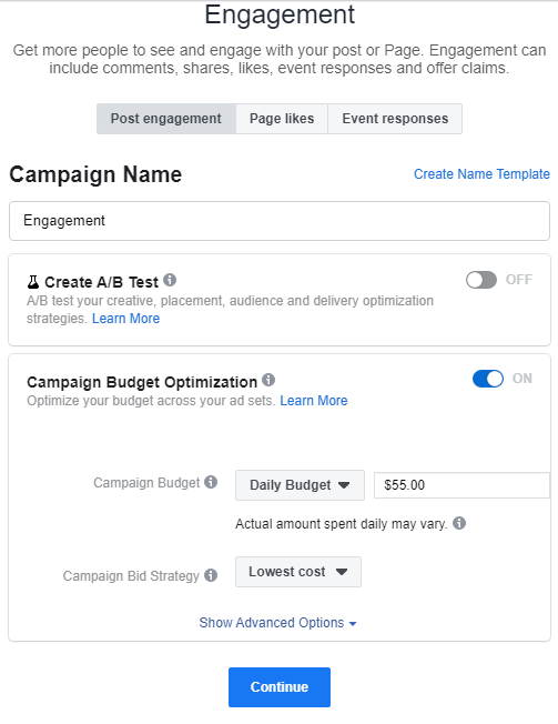 how to create a facebook ad 2020