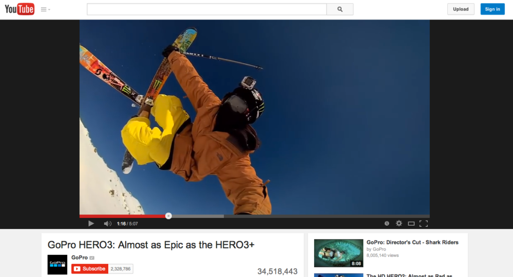 gopro marketing communication